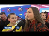 Millie Bobby Brown & Maddie Ziegler | Teen Choice Awards Red Carpet