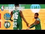 Warriors vs Celtics - Best Plays From The Thrilling 4th Quarter in Boston | November 16, 2017