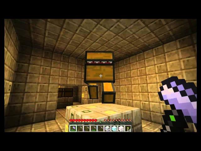 Путешествие в Небесах! [Minecraft] 4: Штурмуем храм!