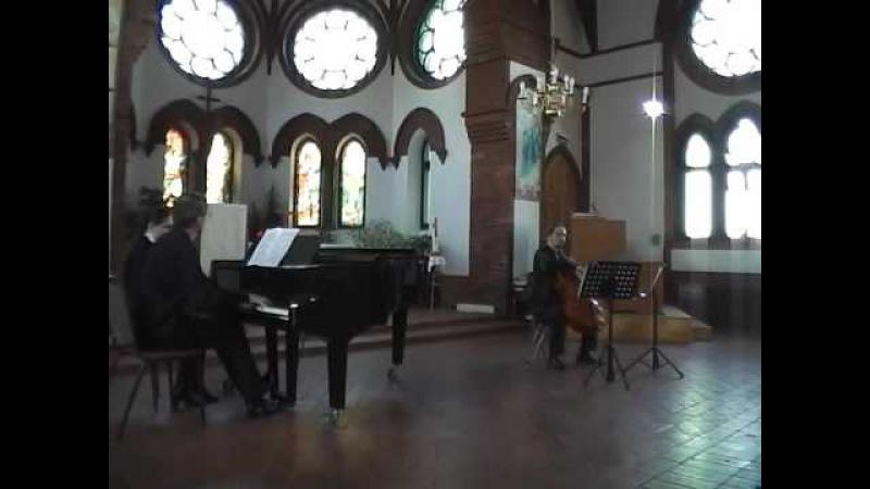 Брамс - Вч. соната № 1 e-moll, op. 38 (Даниил Зайцев, Евгений Соловьёв)