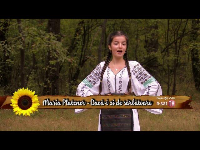 Maria Platzner - Daca-i zi de sarbatoare