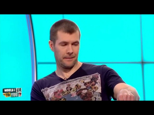 Rhod Gilbert loves his tapas - Would I Lie to You? [CC]