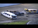 Limo Demolition Derby | Holland Speedway | Crash-A-Rama | 6-8-13