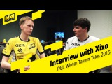 Interview with Xixo @ PGL Winter Tavern Tales 2015 (RUS SUBS)