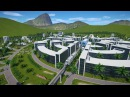 The Venus Project inspired Circular City in Planet Coaster vid 2
