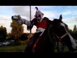 Клоун Гангстер на Боевом Коне - Clown Gangster on a warhorse
