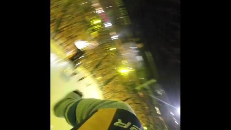 Полёт маскота Нэшвилла