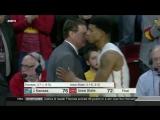 Kansas at Iowa State  2016-17 Big 12 Mens Basketball Highlights.