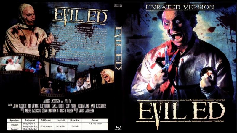 18 Зловещий Эд / Evil Ed (1995) CLASSIC TRASH