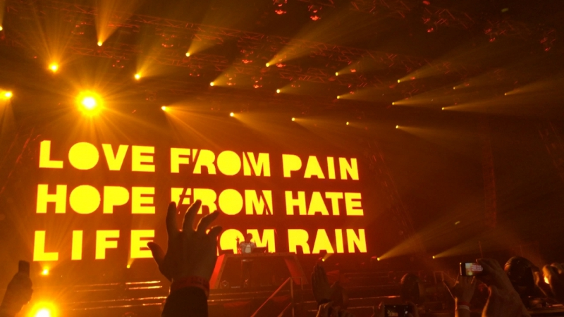 Love from Pain Hope from Hate Life from Rain