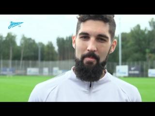 Миха Мевля на «Зенит-ТВ» — о преемственности бородачей и мультиязычном коллективе