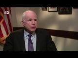 Джон Маккейн- Путин - убийца, бандит и продукт КГБ. Сенатор США в программе 'Немцова.Интервью'