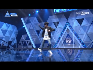 [PERF.] 170414 Kim Samuel (Brave Ent.) – EP.2 Produce 101 @ Mnet Official