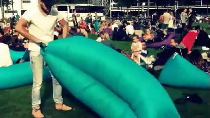 Lamzac - Ламзак надувной диван