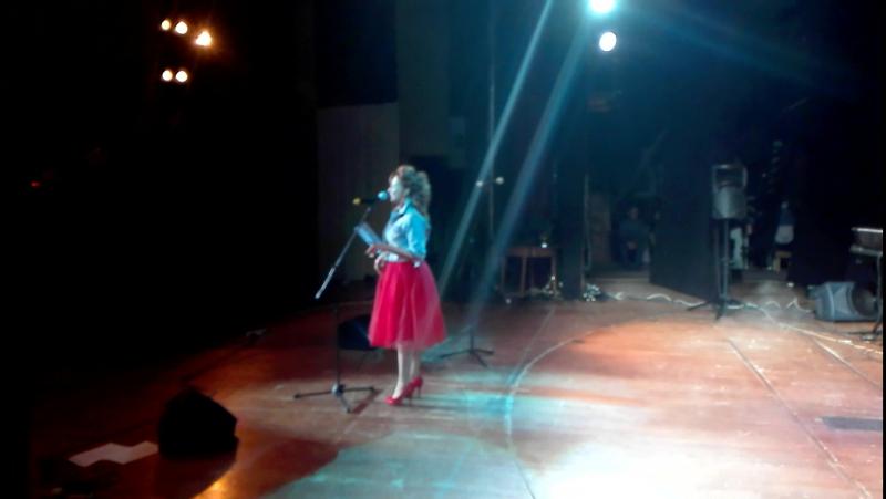 Оксана Аксенова кавер-группа Буги бенд на юбилейном концерте группы Горизонт 45лет.