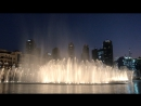 Поющие фонтаны в Дубай Молл ОАЭ