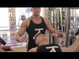 Тренировка грудных мышц. Тренеры Павел Бокарев и Артур Шпенглер 09.11.17