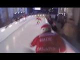 Экстремальный даунхилл на коньках