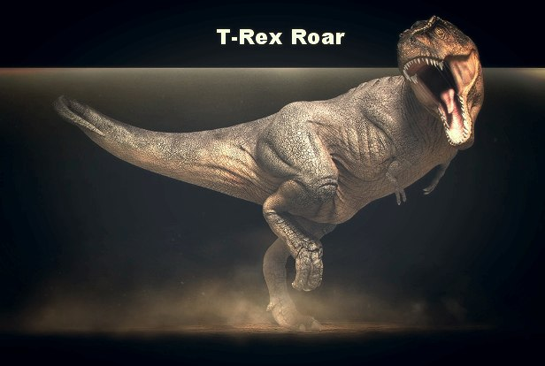 T-Rex Roar - AudioJungle