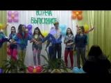Шикарный танец в стиле 90-х. 9 школа г. Рыбница
