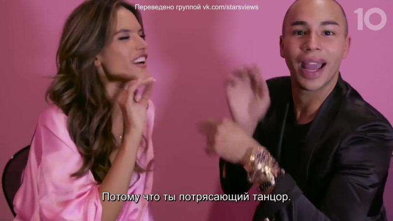 Voices of the Angels: Алессандра Амброзио [RUS SUB] (2017)