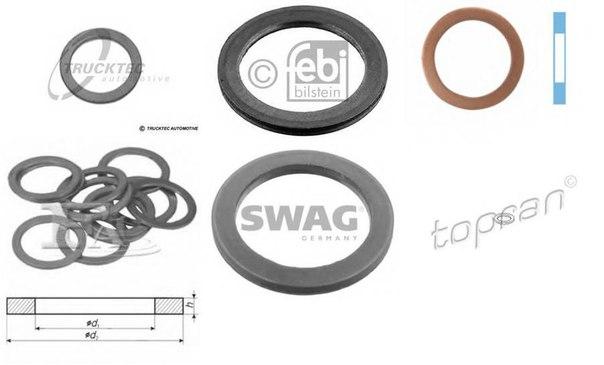 Уплотнительное кольцо, резьбовая пр; Уплотнительное кольцо для BMW Z3 купе (E36)