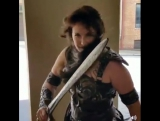 Cosplayer Xena
