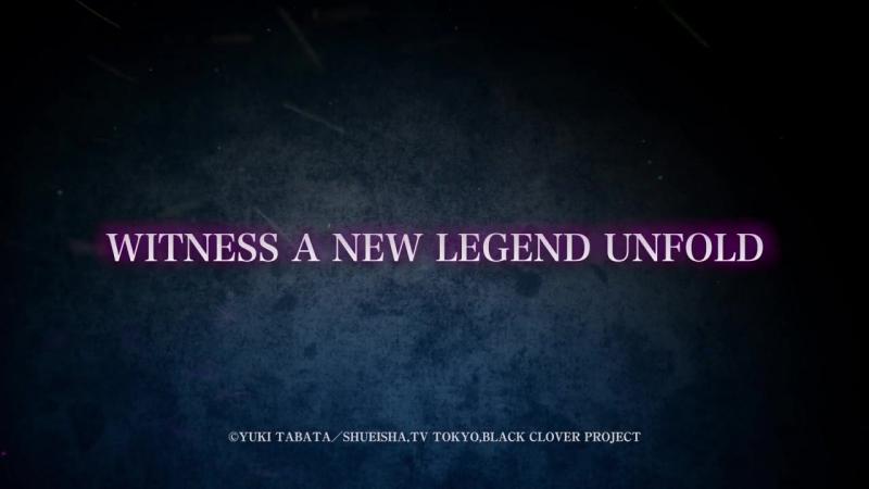«Black Clover» — Трейлер №1 с английскими субтитрами