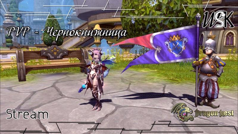 Dragon Nest - PVP - Чернокнижница (рандом масс замес)