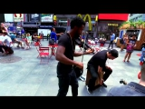 F R E A K I N G Shinsuke Nakamuras theme surprises people on NYC streets