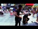 F R E A K I N G || Shinsuke Nakamuras theme surprises people on NYC streets
