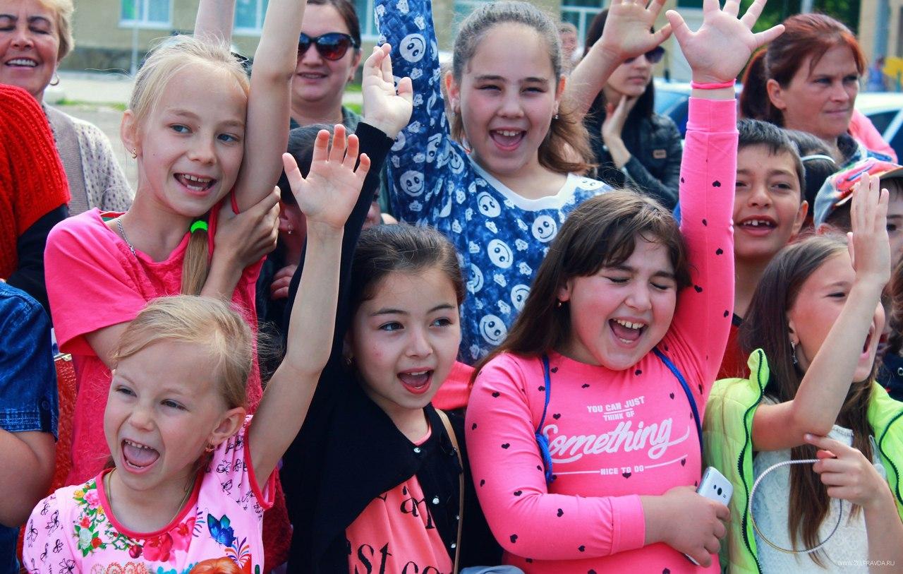 День защиты детей отметили в Зеленчукском районе