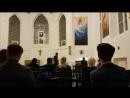 Англиканский собор Святого Андрея. - А.Вивальди. Времена года. Осень. Скрипка Денис Гасанов, орган Анна Суслова.