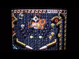 Devil Crash Naxat Pinball (PC Engine)