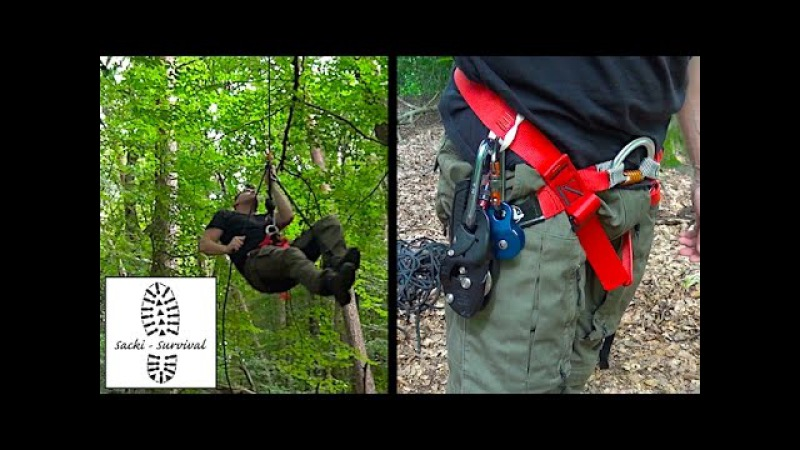 SRT Training 1 Petzl Rig
