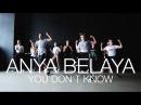 Jax Jones ft. RAYE – You Don't Know Me | Choreography by Anya Belaya | D.Side Dance Studio