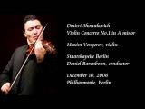 Shostakovich Violin Concerto No.1 in A minor - Vengerov Barenboim Staatskapelle Berlin