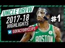 Kyrie Irving EPIC Offense Highlights 2017-2018 (Part 1) - CRAZY Handles, Celtics Debut!