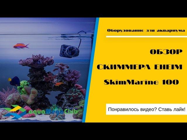 Скиммер фильтр для нано аквариума (аквариумный флотатор,пенник) Eheim SkimMarine 100 - вид...