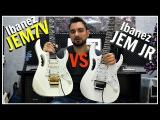 Ibanez JEM7V (Japan) vs JEM JR (Indonesia)  Comparison &amp Review!