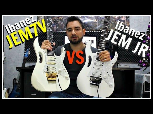 Ibanez JEM7V (Japan) vs JEM JR (Indonesia) | Comparison Review!
