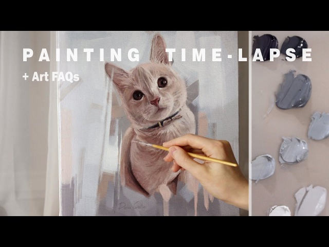 PAINTING TIME LAPSE Art FAQs Varnishing an oil painting how to find inspiration