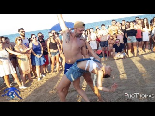 Esteban y Miriam [Sobredodis] • Bachata En La Playa • 2017