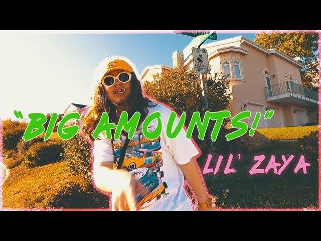 LIL ZAYA ~ BIG AMOUNTS! 🌴🍋💫 ( PROD. CAPTAINCRUNCH ) SHOT BY @CHRISRUIZX * OFFICIAL MUSIC VIDEO *