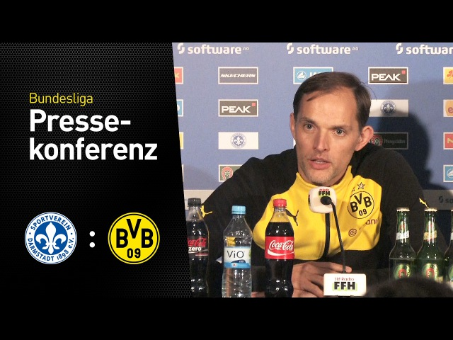 Thomas Tuchel nach dem 1:2 in Darmstadt | Darmstadt 98 - BVB 2:1 » Freewka.com - Смотреть онлайн в хорощем качестве