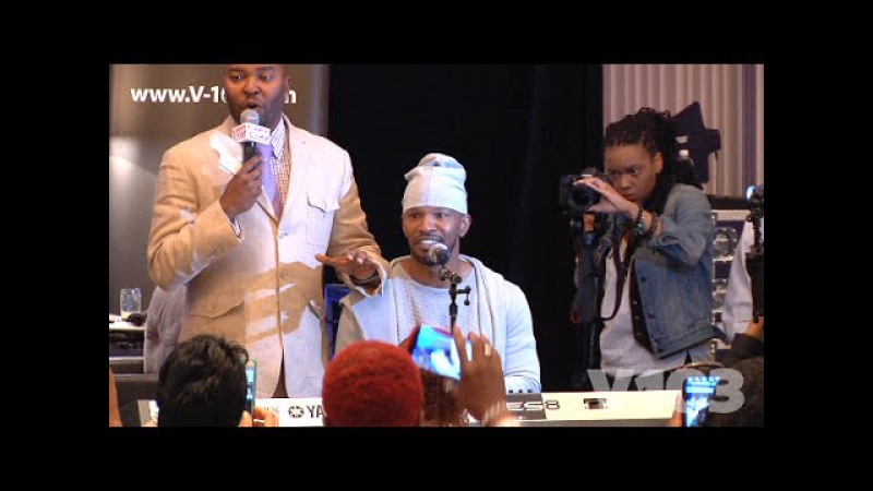 Jamie Foxx Channels Prince, Babyface, Luther Vandross More In Exclusive Performance