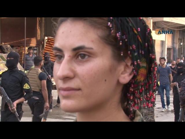 Qamişlo'da 19 Temmuz yürüyüşü