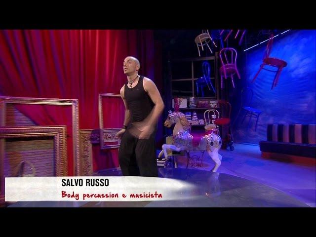 La Body Percussion di Salvo Russo a Revolution su Tv2000