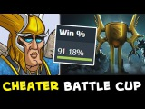 Cheaters in Battle Cup — beware of scripts/hacks in Dota