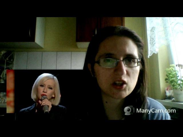 [REACTION] Christina Aguilera - Lift Me Up (Live at Hope For Haiti 2010) LIVE